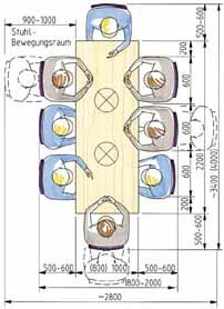 platzbedarf esstisch com forafrica. Black Bedroom Furniture Sets. Home Design Ideas