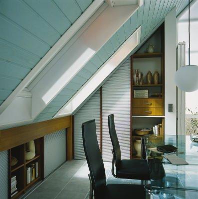 schiebet ren unter dachschr gen wohnideen im dachgeschoss. Black Bedroom Furniture Sets. Home Design Ideas