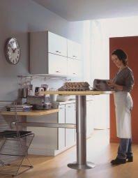 Tischsaulen Fur Die Moderne Kuche Hohenverstellbar Bm Online