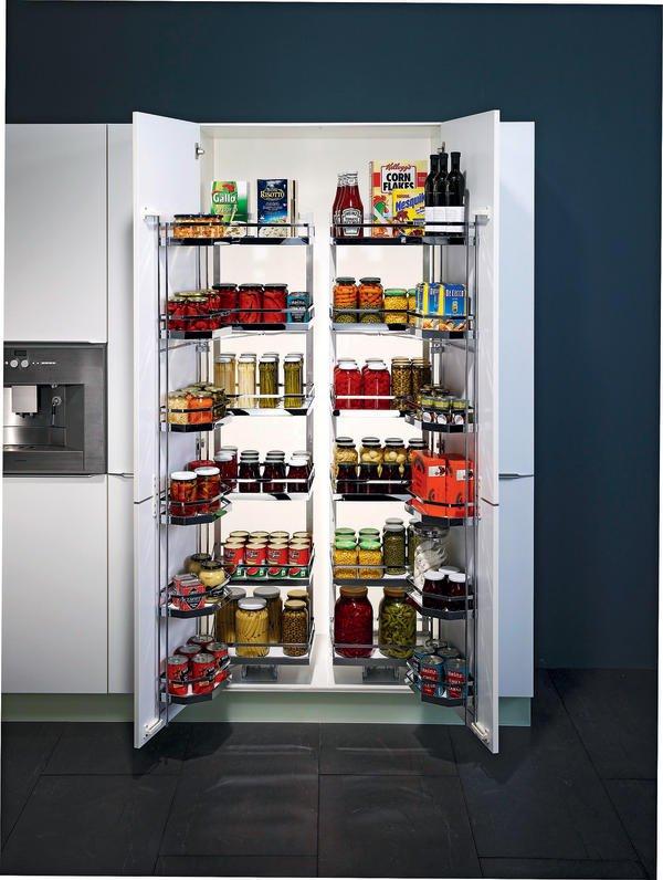 Vorratsschrank küche weiß  Kesseböhmer. Neue Ideen für die Küchenausstattung - BM online
