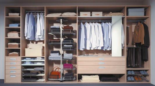 gestaltung im tischlerhandwerk folge 14 kleiderschr nke i bm online. Black Bedroom Furniture Sets. Home Design Ideas