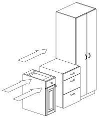 Schrank gezeichnet  Konstruktion und Präsentation. Schreiner-CAD unter der Lupe: Das ...