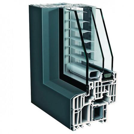 finstral top 90 mitteldichtungssystem mit verbundfl gel sonnenschutz zwischen den scheiben. Black Bedroom Furniture Sets. Home Design Ideas