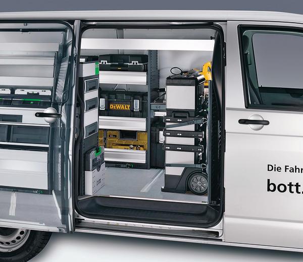 tough boxen von dewalt sind kompatibel mit bott fahrzeugeinrichtung sicher transportieren bm. Black Bedroom Furniture Sets. Home Design Ideas