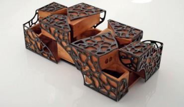 roentgen m bel mechanische wunder edles holz bm online. Black Bedroom Furniture Sets. Home Design Ideas