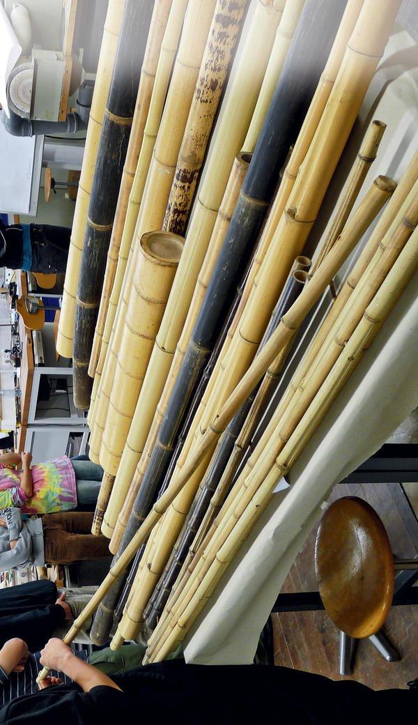 projektwoche bambus 1 auseinandersetzung mit einem besonderen naturwerkstoff vom bambusrohr. Black Bedroom Furniture Sets. Home Design Ideas