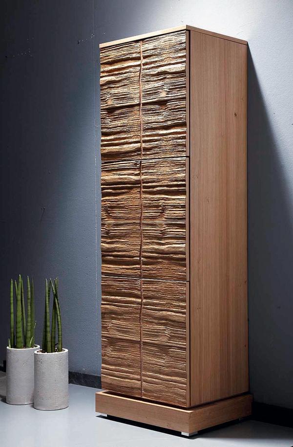 VD Werkstätten Bis zu neun Schichten Furnier auf einem Mehrschichtkern Skulpturale Oberfläche