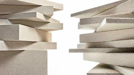 Leichtbauplatten_aus_Verolith_(links)_und_aus_Blähglas_(rechts)