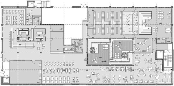 Spa wellness grundriss  Innenausbau eines Fitness- und Wellness-Studios in Stuttgart ...