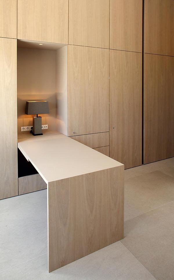 Innenausbau einer penthouse wohnung in m nchen for Wohnung minimalistisch