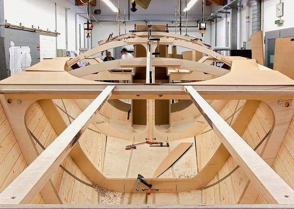 Innenarchitektur Yacht yachtausbau als projekt im fachgebiet interior design der