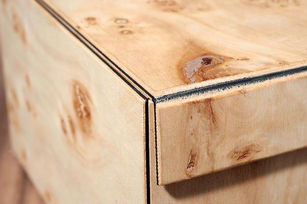 Teil 1 Der Bm Serie Holz Minimiert Wie Neue Materialien Das Möbel