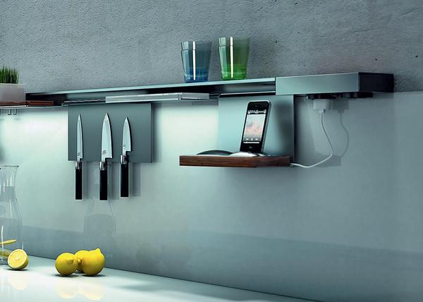 EBB: Modulares Aufhängesystem Miro. Ordnung für Küche, Bad und Büro ...