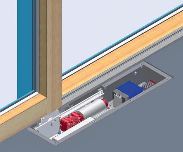 Schiebetür Elektrisch vollautomatischer antrieb drive für schiebetüren st meko