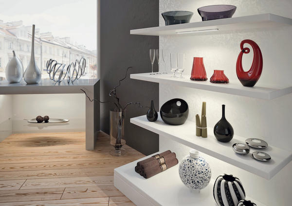 verl ngerbare led leuchte von hera geballte licht power bm online. Black Bedroom Furniture Sets. Home Design Ideas