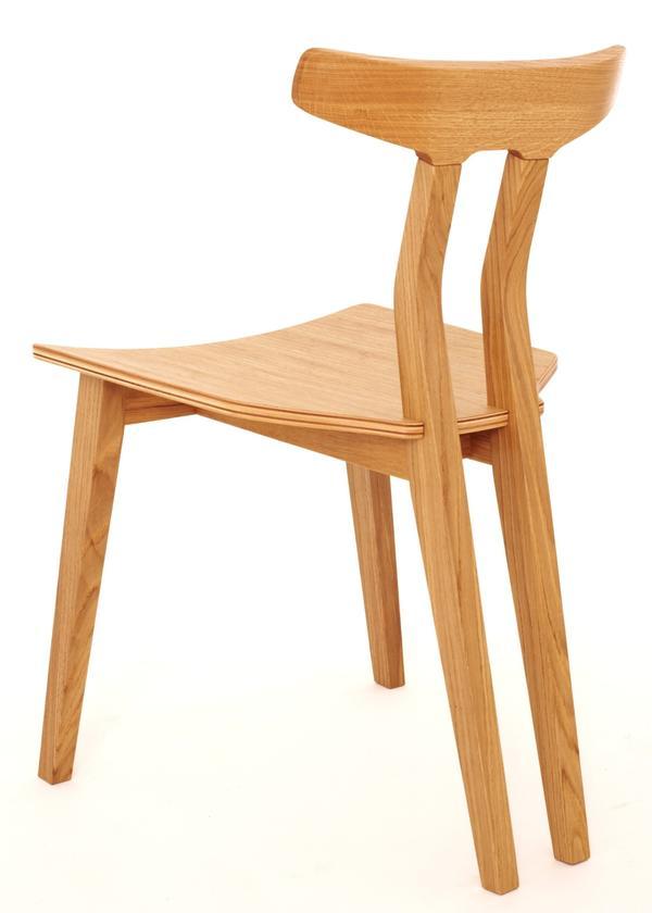 White Oak Und Black Walnut Aussergewohnliche Stuhle Aus