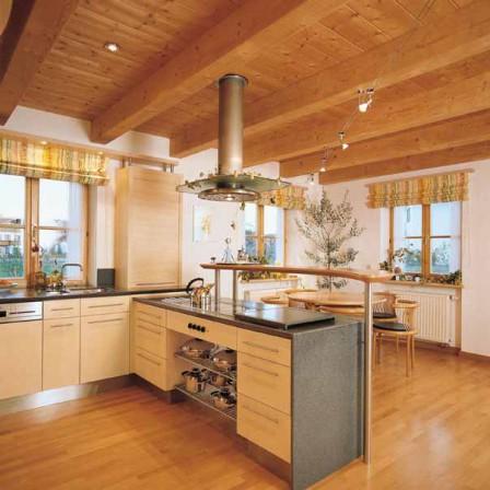 tischler und schreiner erf llen k chentr ume kochen und essen im landhaus bm online. Black Bedroom Furniture Sets. Home Design Ideas