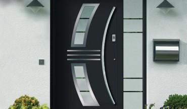 Haustüren modern anthrazit  Flügelüberdeckenden Archive - BM online