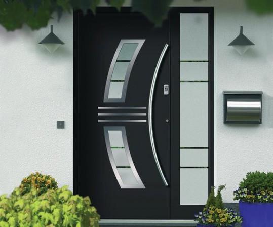 aluminium haust ren in sechs modellreihen von k ster. Black Bedroom Furniture Sets. Home Design Ideas