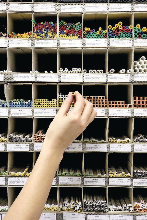 Modellbau Architektur Shop   Der Berliner Materialgrosshandler Modulor Hat Sich Der Vielfalt