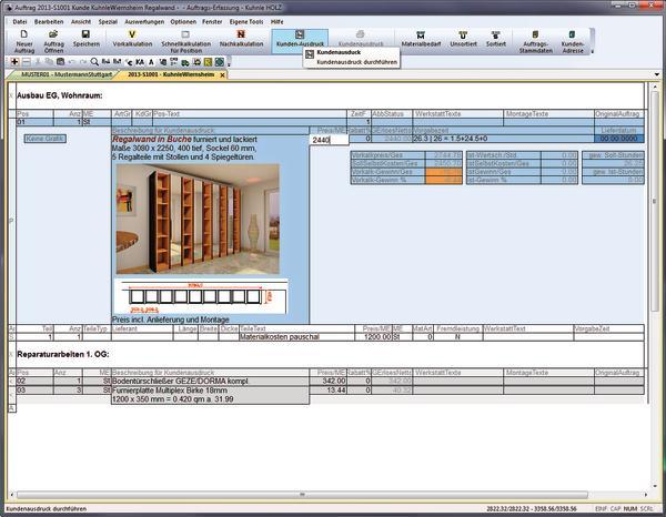 Branchensoftware Unterstützt Bei Kalkulation Und Angebot Auf Die