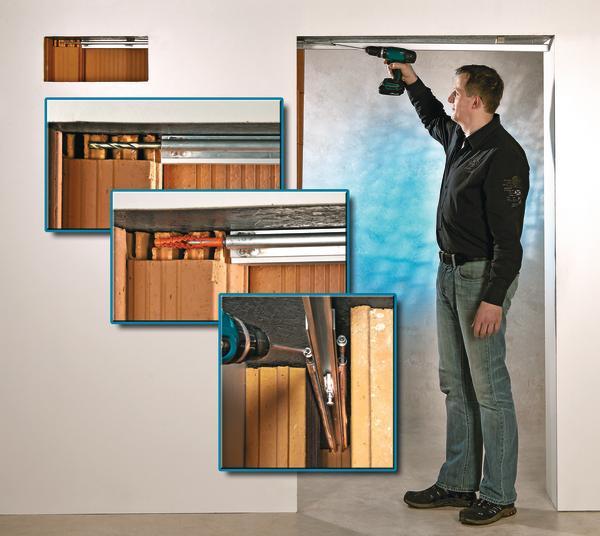 schreinermeister schuh entwickelt neues system f r schiebet ren montage in der unzug nglichen. Black Bedroom Furniture Sets. Home Design Ideas