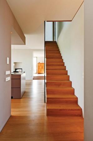 innenausbau eines wohnhauses in holzrahmenbauweise fein. Black Bedroom Furniture Sets. Home Design Ideas