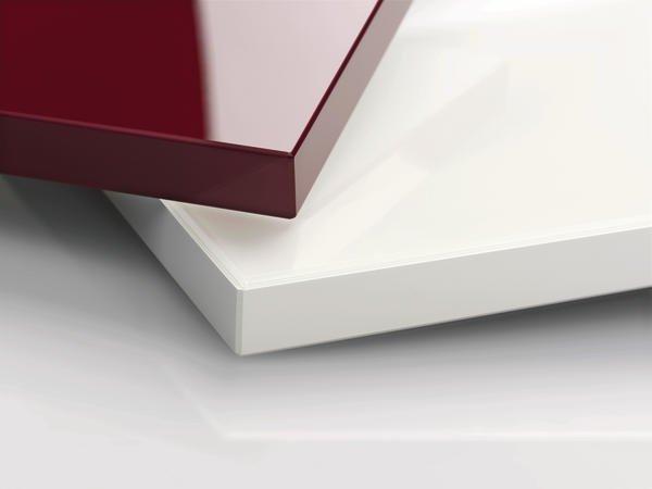 hochglanzlaminat rauvisio brilliant und glaslaminat rauvisio crystal polymerspezialist rehau. Black Bedroom Furniture Sets. Home Design Ideas