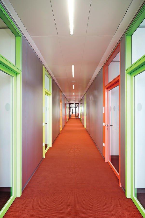 Feco-Trennwandsystem bietet hohe Flexibilität im Innenausbau