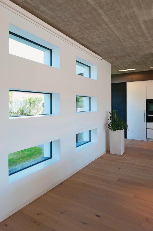 lichtdurchflutetes wohnen optisch rahmenlos bm online. Black Bedroom Furniture Sets. Home Design Ideas