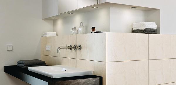 led-beleuchtung mit umfangreichen systemkomponenten von häfele. es ... - Led Einbauleuchten Küche