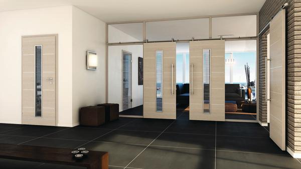 cpl t ren von pr m mit lisenen in edelstahloptik naturidentische haptik mit akzenten bm online. Black Bedroom Furniture Sets. Home Design Ideas