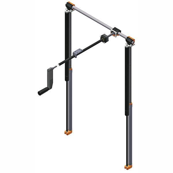 hubsystem von ketterer f r h henverstellbare arbeitstische maximaler hub ganz ohne strom bm. Black Bedroom Furniture Sets. Home Design Ideas