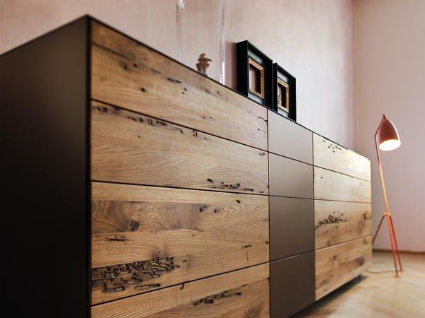 """Sideboard holz design  Design Award für """"Cubus Pure"""" von Team 7. Korpussystem in Glas und ..."""