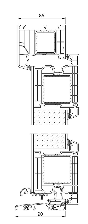 al bohn fenster systeme setzt auf neue profile zwei werkstoffe zwei neuheiten bm online. Black Bedroom Furniture Sets. Home Design Ideas