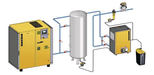 den energiebedarf sp u00fcrbar senken  effiziente druckluft