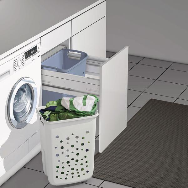hailo erweitert ordnungssystem zur nutzung im waschraum bringt ordnung in die waschk che bm. Black Bedroom Furniture Sets. Home Design Ideas