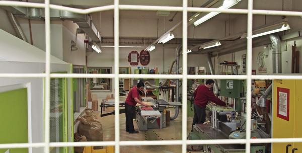 modulausbildung in der jva dieburg neue chance bm online. Black Bedroom Furniture Sets. Home Design Ideas