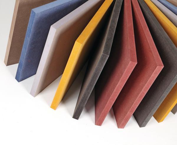 glunz setzt durchgef rbte mdf platten neu in szene farbe. Black Bedroom Furniture Sets. Home Design Ideas