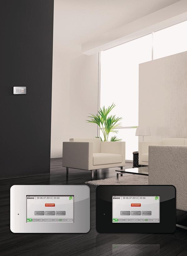 eimsig kombiniert smarthome mit alarmanlage sicher und. Black Bedroom Furniture Sets. Home Design Ideas