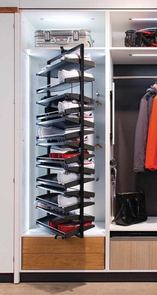 Vertical Closet Storage