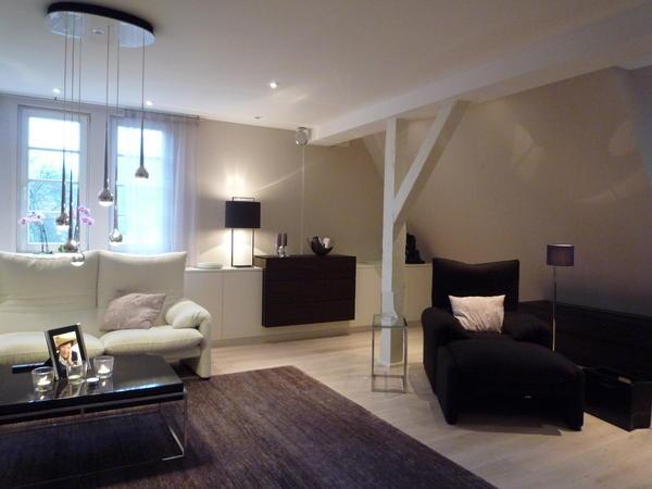 innenausbau der dachgeschosswohnung einer historischen. Black Bedroom Furniture Sets. Home Design Ideas
