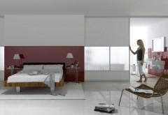 Glas kann entscheidend zur Raumwirkung beitragen: So geben beispielsweise lackierte Gläser Räumen eine elegante Note ... Foto:Saint-Gobain Glass / Casa, Fotoatelier für Werbung