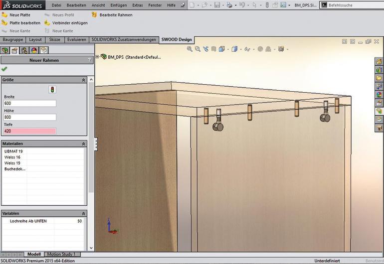 Swood von der 3d m belkonstruktion bis zur cnc anbindung for Software raumplanung