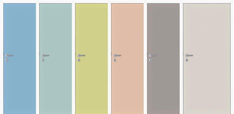 Mosel bringt farbe in den wohnraum unifarbene t rbl tter for Wohnraum farbe