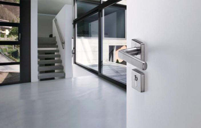 hoppe setzt auf die steckgriffverbindung mit. Black Bedroom Furniture Sets. Home Design Ideas