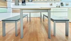Auch als Untergestell für Küchen und Kochinseln ist Frame geeignet.