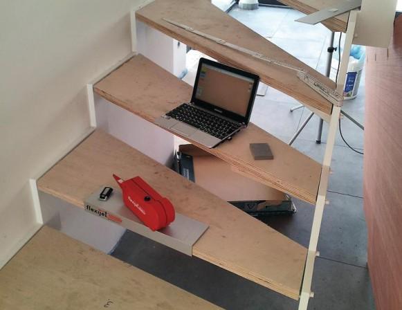 Flexijet stairbox reduziert das aufmessen von stufen for Box over stairs bedroom ideas
