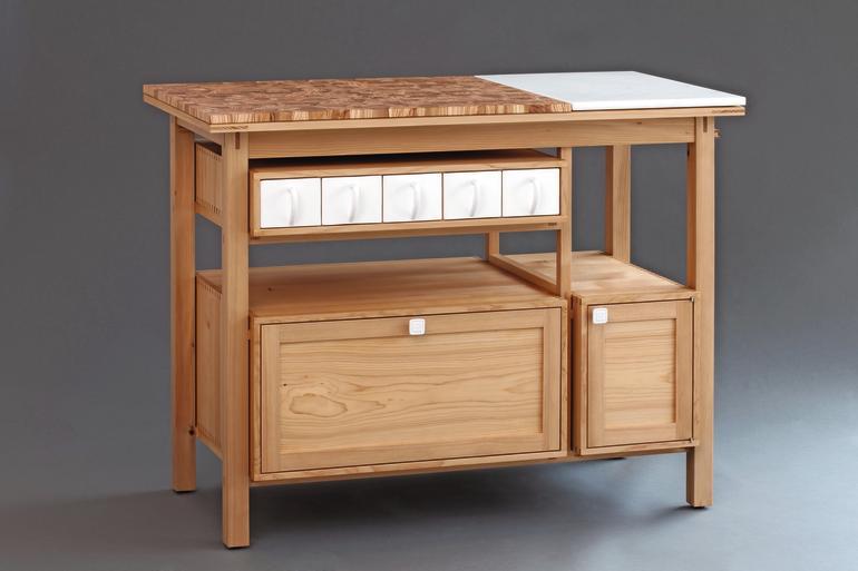 meisterst ck in zeder olivenholz und stein unser t glich brot bm online. Black Bedroom Furniture Sets. Home Design Ideas