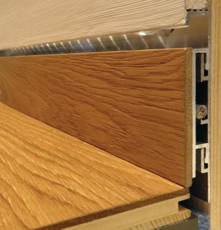 Wandbündige Sockelleisten sockelleiste admonter vereint ansprechende optik mit praktischer